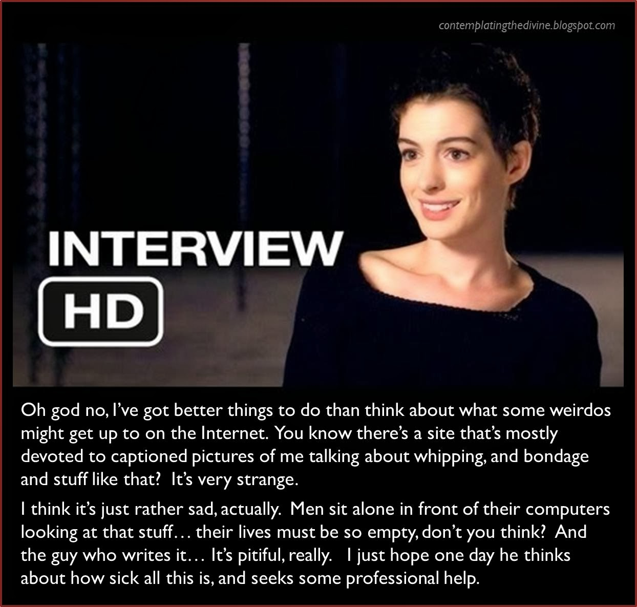 She Hathaway with words