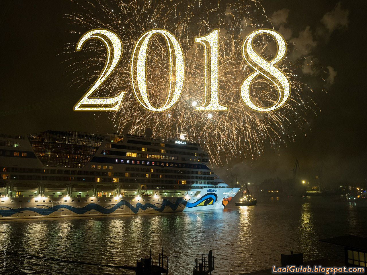 Happy New Year 2018 Wallpapers HD Free Download  Happy New Year 2018 Wallpapers