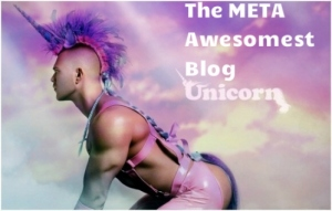 Meta Awesomest Blog Unicorn award