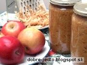 Strúhané jablká na zimu - recept