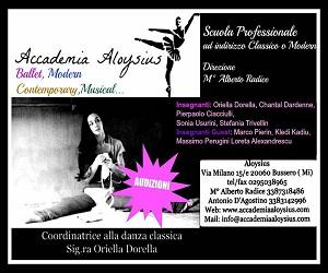 Audizione Accademia Aloysius