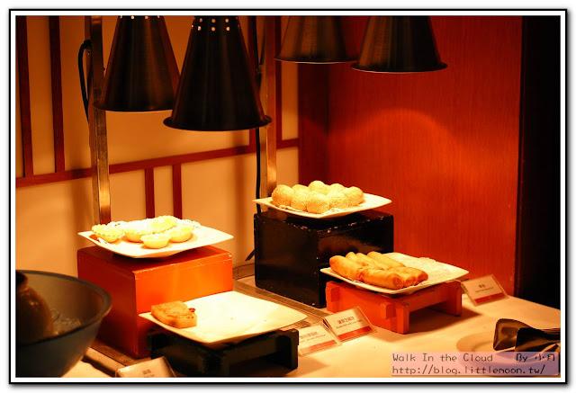 炸物區 (芝麻球、蛋塔、春捲、煎蘿蔔糕)
