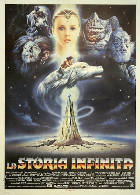 cartel pelicula la historia interminable the neverending story la storia infinita