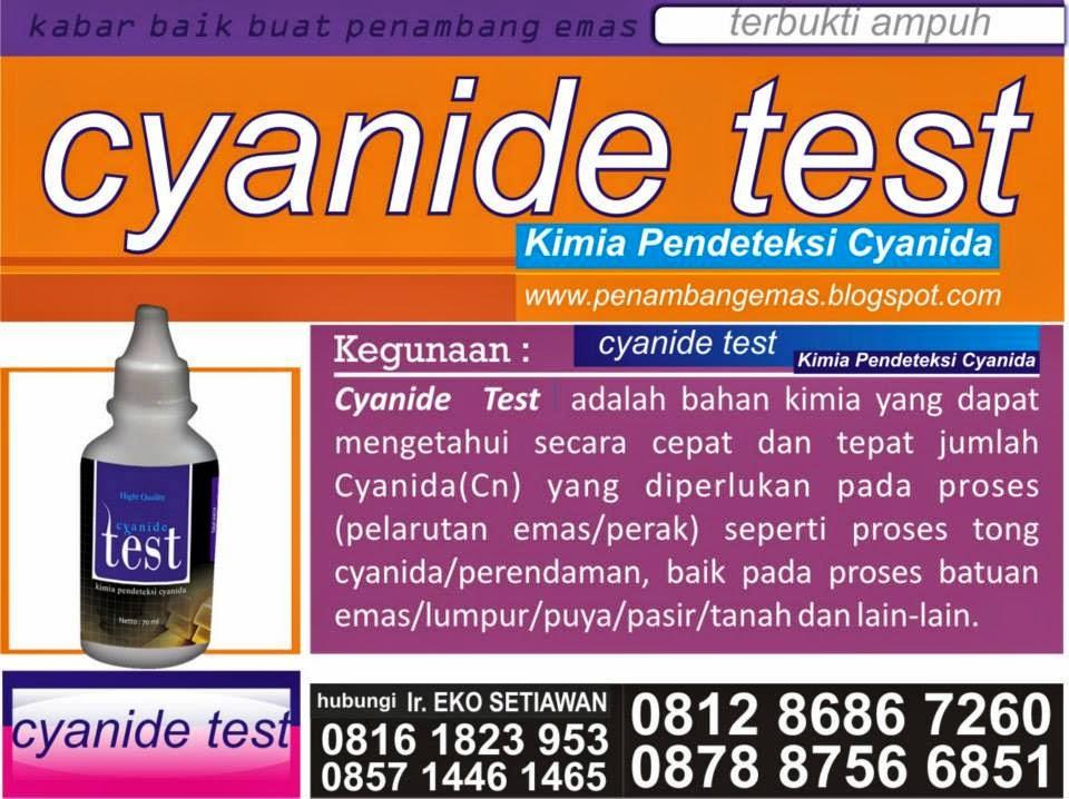 CYANIDA TEST