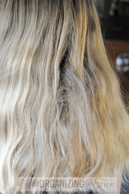 Tangled hair :: OrganizingMadeFun.com