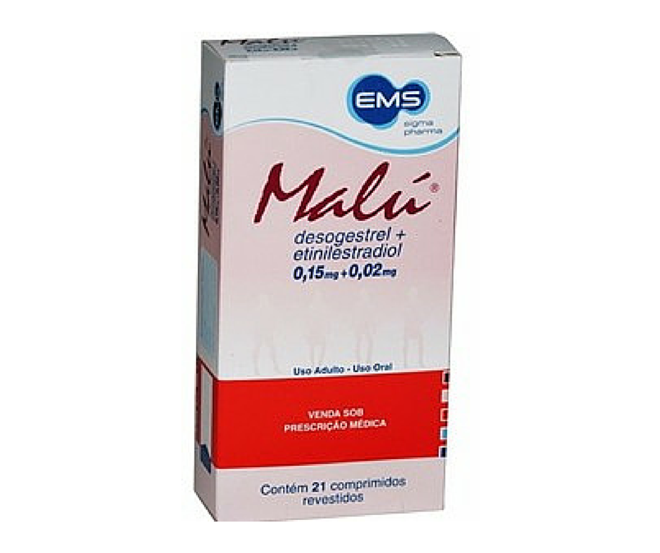 Malu® (desogestrel 150 mcg + etinilestradiol 20 mcg