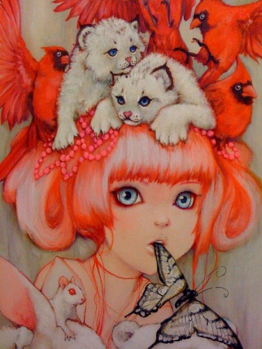 Artist Camilla d' Errico