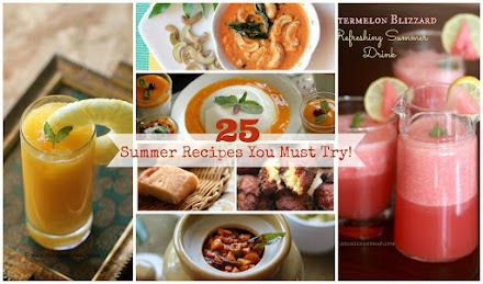 25 SUMMER RECIPES YOU MUST TRY