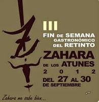 III FIN DE SEMANA GASTRONÓMICA DEL RETINTO.ZAHARA DE LOS ATUNES