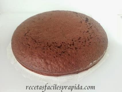 bizcocho de cacao