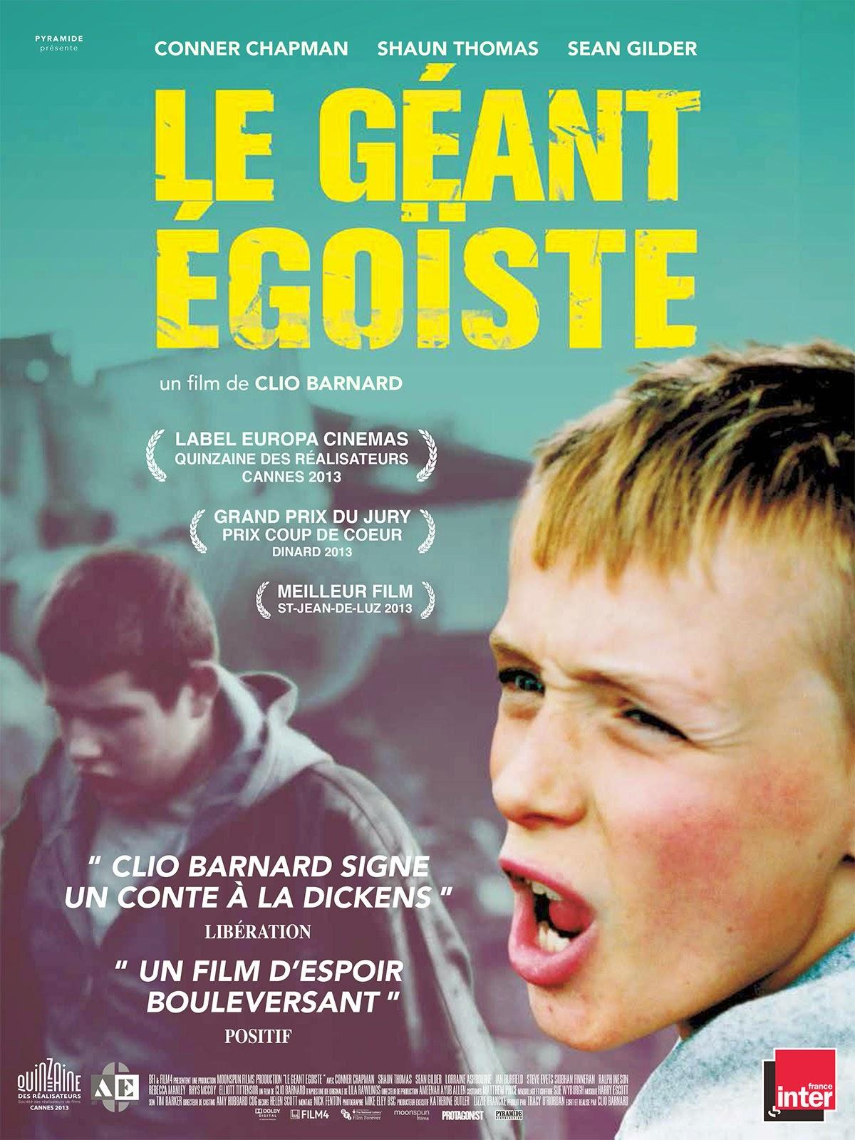 Affiche française du film Le Géant égoïste, de Clio Barnard (2013)