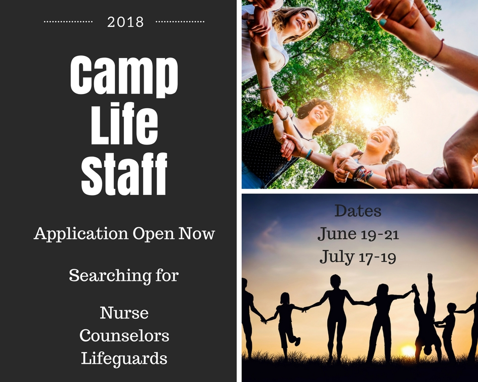 Camp Life Staff Application