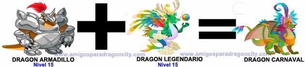 como sacar el dragon carnaval en dragon city combinacion 1