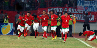 Imbang, Garuda Jaya ke Semifinal