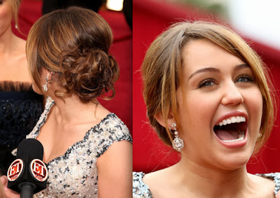 Prom Hairstyles Miley Cyrus