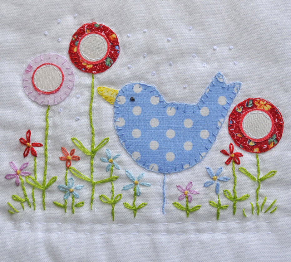 HAND EMBROIDERY APPLIQUE Embroidery Designs