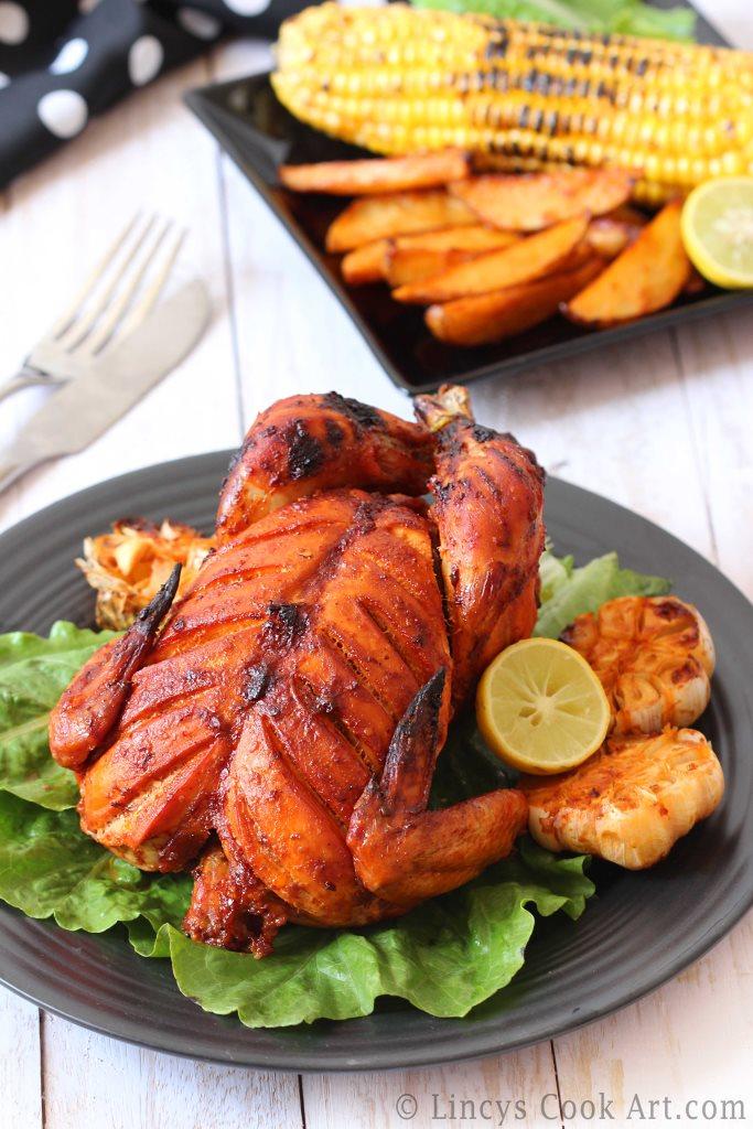 Schezwan Roast Chicken