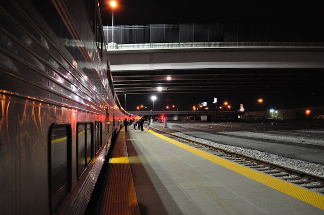 salt lake city station California zephyr amtrak train ride journey united states