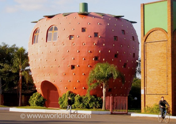Strawberry Building - stupid architecture - you are not an architect