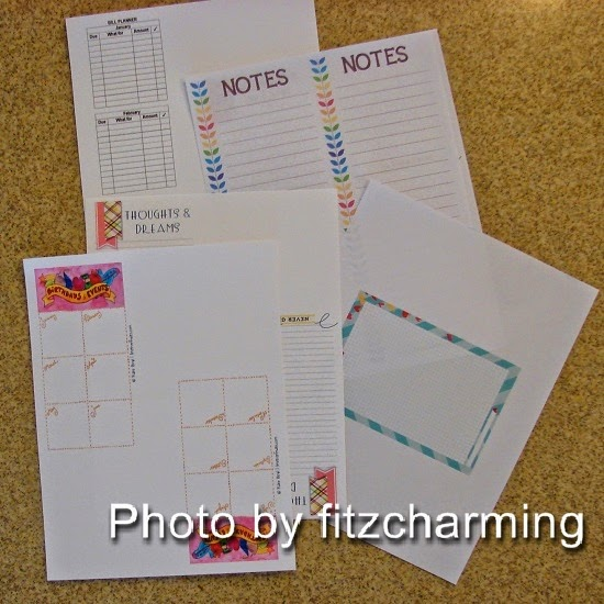 Printable Filofax Pages
