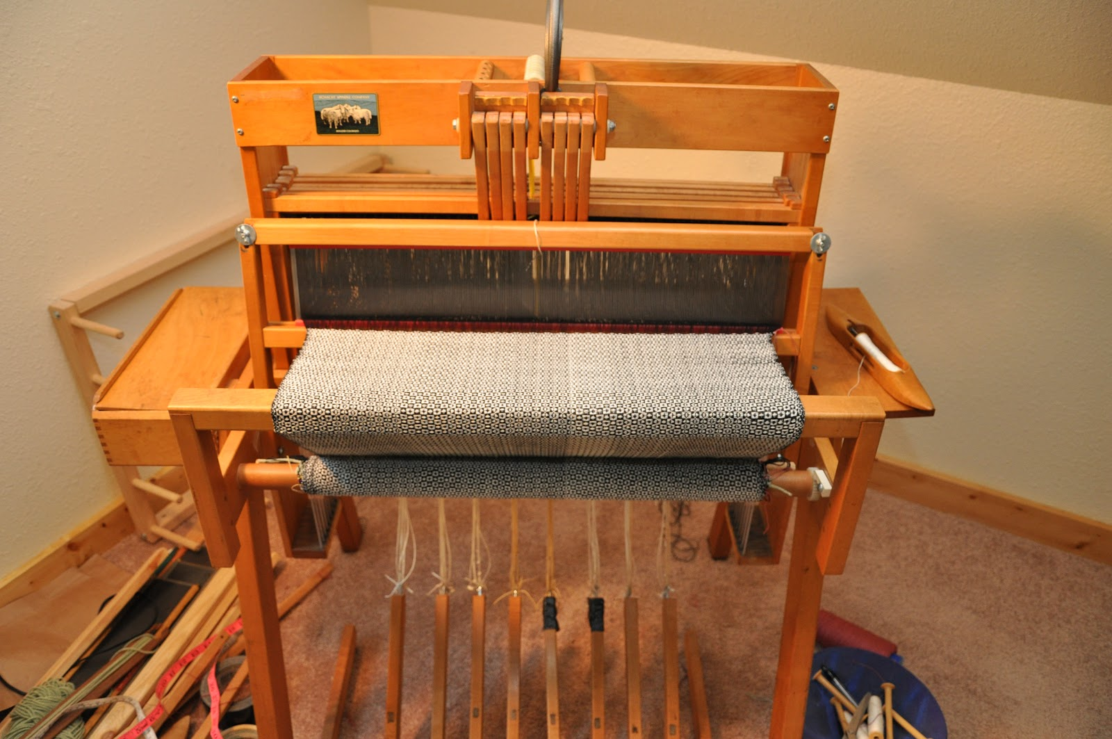 My Schacht Loom | Weaving Fabrications