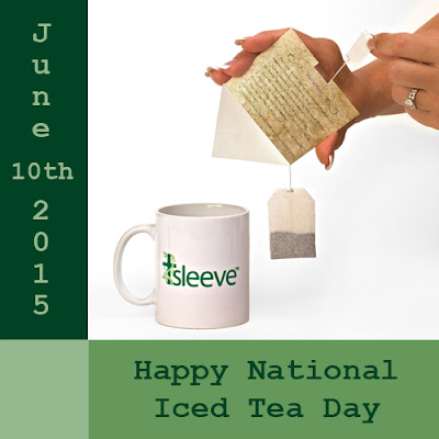 Happy National Iced Tea Day on June 10th 2015