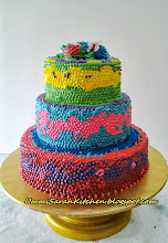 3 STACK WEDDING CAKE