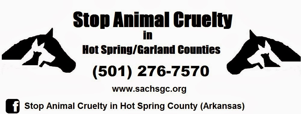 Stop Animal Cruelty in Hot Spring / Garland Counties (Arkansas)