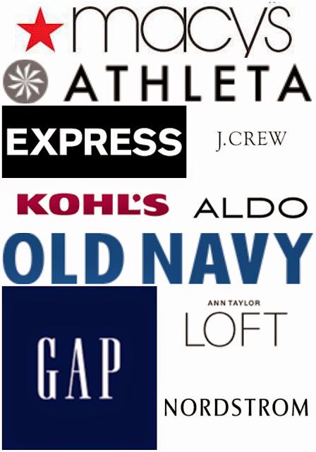 MEMORIAL DAY SALES - all of the deals in one spot! Macys Athleta Express J. Crew Kohls Old Navy Gap Loft Forever 21 Nordstrom