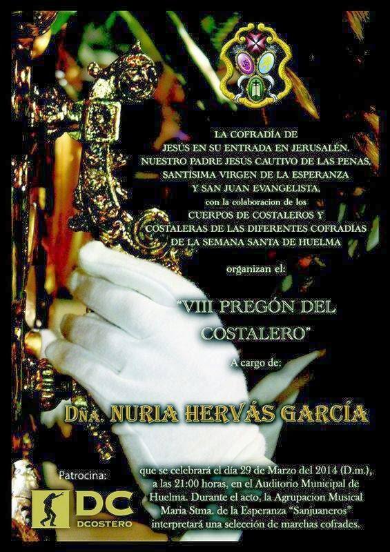 VIII PREGON DEL COSTALERO 2014