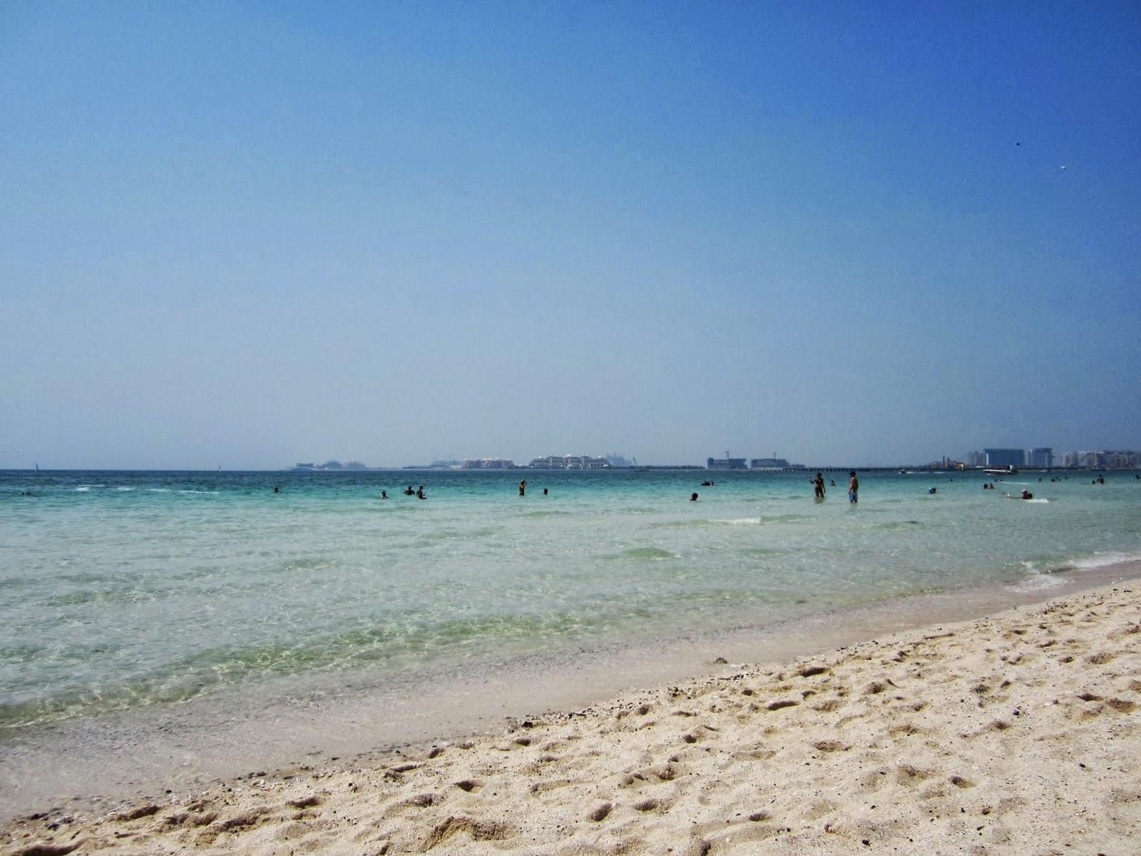 Dubaj plażą