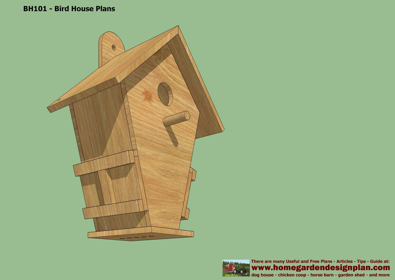 Home garden plans bh102 bird house plans construction bird house design how to build a Build a house online