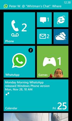 WP7 whatsapp