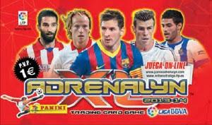 Adrenalyn 2013-14 sobre normal