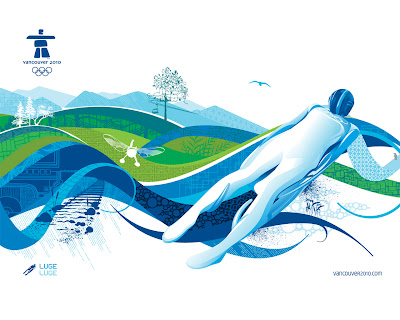 Free Vancouver 2010 Olympic Winter Games PowerPoint Background 21