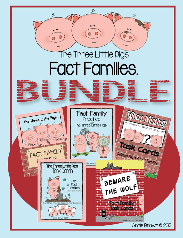 Fact Families - Complete Set