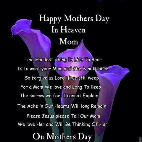 Mothers Day Inspirational Quotes Life Inspiration Quotes Happy Mother's Day To Moms In Heaven .