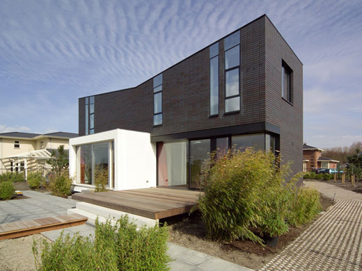 Brick Modern House Design