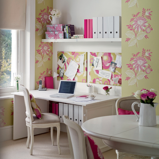 Home office design decorating ideas interior for Home office idea