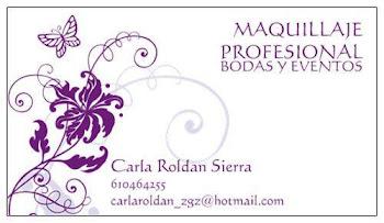 MAQUILLAJE PROFESIONAL -  CARLA ROLDÁN SIERRA