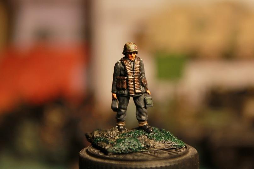 Carlo Antonio - German infantry 43-45 Plastic Soldier 1/72 1