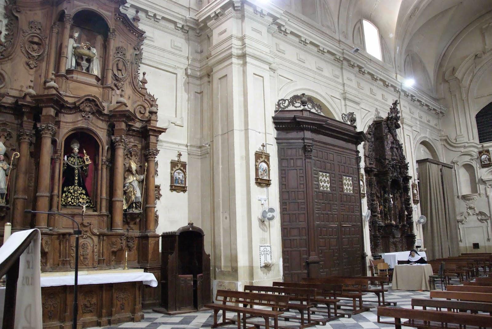 Leyendas de sevilla carmona convento de la sant sima for Interior izquierdo