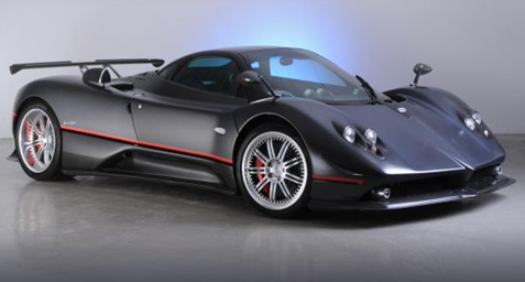 horacio pagani zonda c12 supercar auction