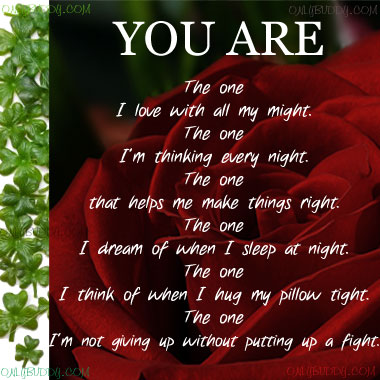 ur my everything poem