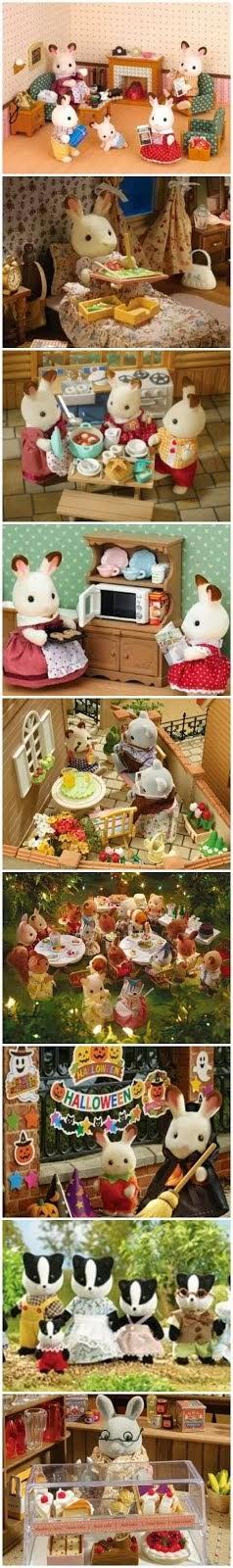 """Sylvanian Families"" Doll House & Toys ^0^"