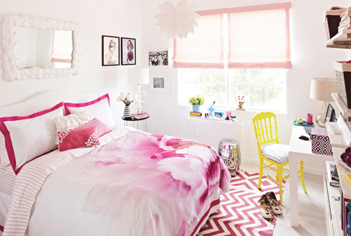 101 idées pour la chambre d'ado déco et aménagement - papier peint chambre fille ado
