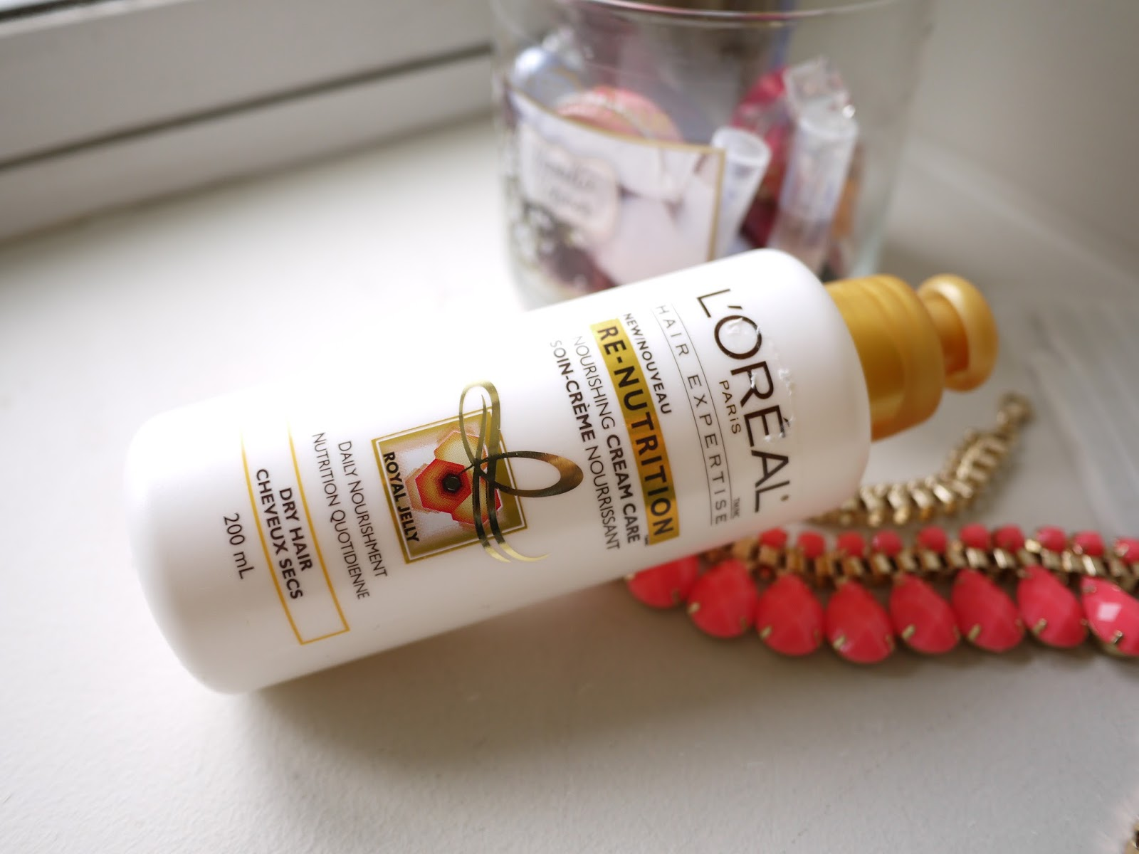 L'Oreal Re-Nutirtion Nourishing Cream Care Royal Jelly review