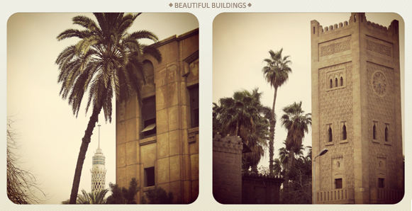 buildings in cairo