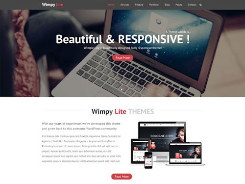 Download Tema WordPress Wimpie Lite