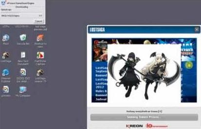 Solusi Terbaru Error/Sulit Login Game Guard Lost Saga Indonesia